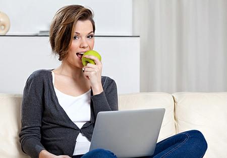 Jak zhubnout, dietní jídelníček