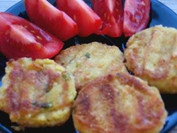 Dietní karbanátky z červené čočky