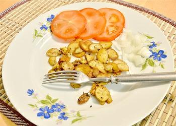 Dietní píchavky na oleji se zeleninou
