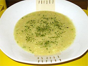 Polévka cuketová s guinoí