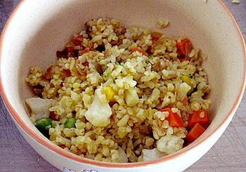Dietní zeleninový bulgur