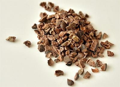 Kakaový bob (řezaný) je super potravina (superfoods)