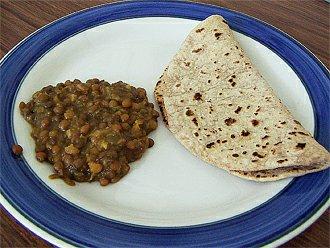 Indické chapati