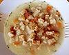 Dietní česneková polévka s quinoi