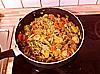 Dietní krůtí kostky s rýžovými nudlemi