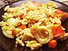 Slovenská rýže s krabími tyčinkami