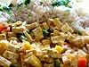 Dietní tofu s rýží